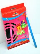 """Цветные карандаши 12цв. """"Апплика"""" """"Черепаха""""  (00616)"""