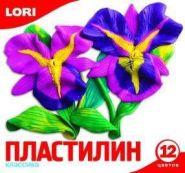 Пластилин Классика, 12 цветов без европодвеса (10183)