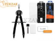 Готовальня 3 предмета  Tukzar (00338)