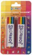 """Мелки восковые Silwerhof """"Rainbow. Emotions"""", водоустойчивые, 2 шт"""