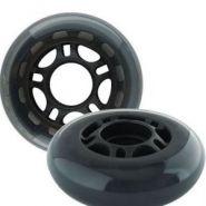 Набор колес из полиуритана PU 82A 76, жесткость 82A, размер 76мм. 4шт. в блистере.