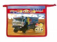 Папка для тетрадей А4 Rally Dakar Kamaz 80Ш4 804069 на молнии (09274)