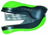Степлер мини пластиковый №24, 10л., COMBY, цв. салатовый   401062-23