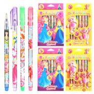 Ручка гелевая набор TUKZAR TZ 5220-8 8 цвет/уп с блестками,арома (11690)
