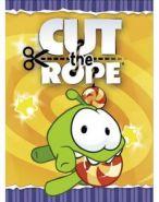 Блокнот 48л А6ф клетка на скобе серия -CUT THE ROPE (11772)