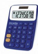Калькулятор настольный, 8 разрядов, ERAXAN EX-100-8BL, цв. бело-синий