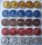 Набор из 6-ти свечей-таблеток, 23х4х2 см, 4 в.
